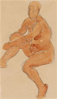 weiblicher akt by liubov popova