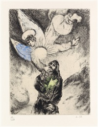 vocation de jérémie by marc chagall