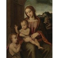 madonna and child by tommaso di stefano lunetti