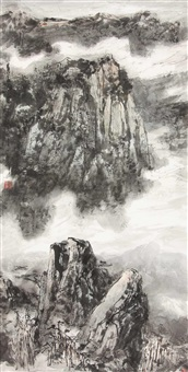山水 by qi haifeng