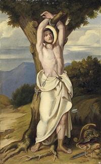 der heilige sebastian by alexandre cabanel