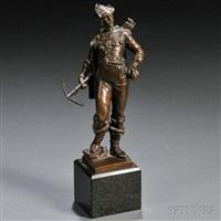 figure of an archer by oskar gladenbeck