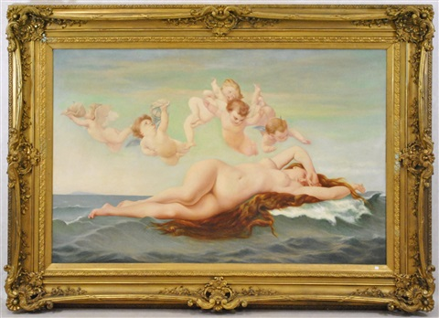 nu mythologique by alexandre cabanel