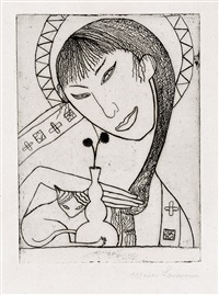 constantinople (2e planche) by marie laurencin