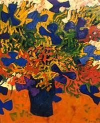 die blaue vase by erich müller-santis