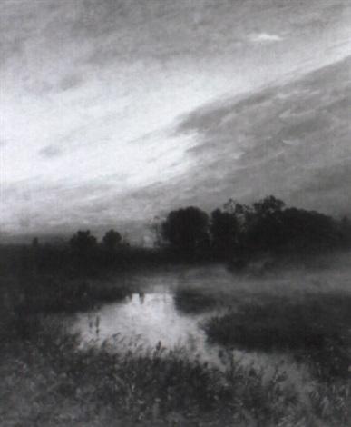 sonnenuntergang mit nebel und - photo #19