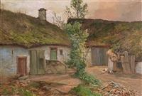 bauernhof in der eifel by heinrich böhmer