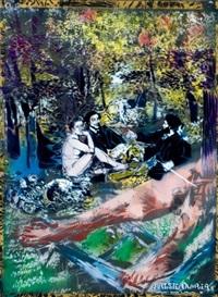 le déjeuner sur l'herbe by artiste-ouvrier