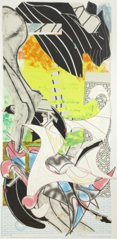 the symphony from the embassy series by frank stella