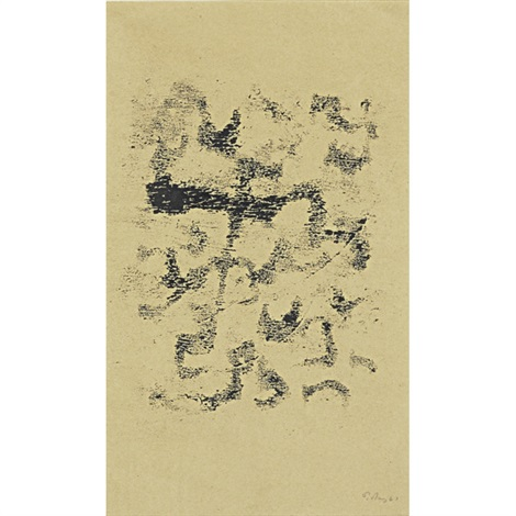 untitled and untitled 2 works by mark tobey