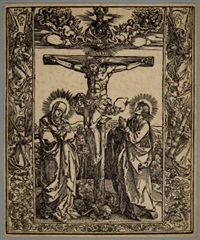 crucifixion by albrecht dürer
