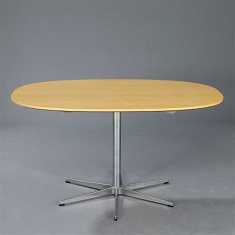 ellipse dining table by piet hein and arne jacobsen
