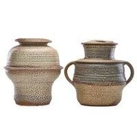 large vessels (2 works) by karen karnes