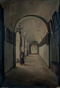 chiostro del convento dei cappuccini a sorrento by frans vervloet
