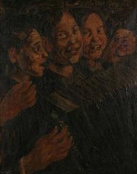 jeunes accordéonistes by theodore verschaeren