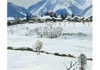 aizu in snow by shoichiro nushi