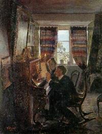 musiceren i skumringstimen by georg sofus seligmann