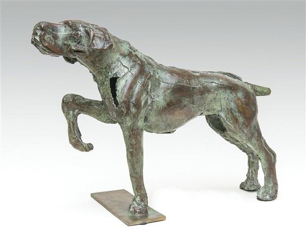 animaux chasse bronze