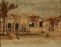 de residentie van den weledelen heer p korsten, in het dorp stellenbosch by petronella sophia camijn