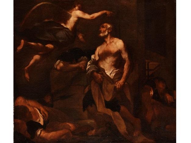 die befreiung petri aus dem kerker by anonymous italian 17