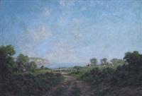 coastal view by harold goldthwaite