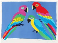 parrots by walasse ting