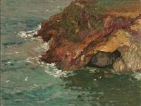 rocky coastline by oscar miller