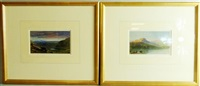 cumbrian views (pair) by samuel phillips jackson