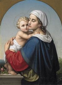 maria mit dem christusknaben by auguste hess