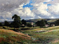 a lancashire valley by reginald aspinwall