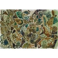 abstrakte landschaftskomposition by eduard bargheer