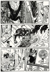 koma (from comme dans les westerns) by frederik peeters