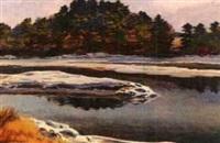 rock island by francis wenderoth saunders