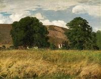 landschaft im schwarzwald by hans thoma
