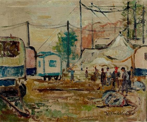 zirkuswagen by karl stachelscheid