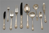 flatware (95 pieces) by alvin corp.