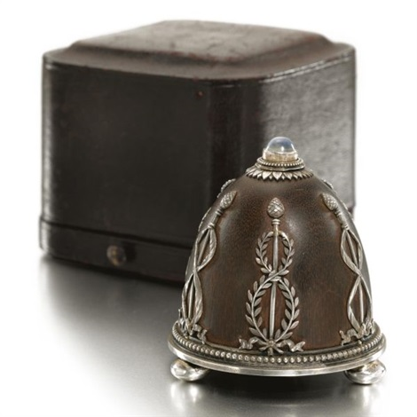 a bell push for fabergé by johann viktor aarne