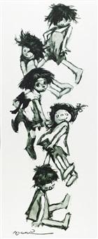 la niña y sus muñecas by manuel monedero
