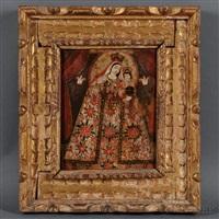 virgen del rosario by peruvian school-cuzco (19)