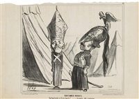 le charivari by honoré daumier