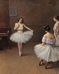 ballerinas by fanny laurent fleury