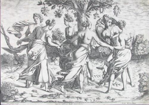 der tanz der dryaden after rosso fiorentino by pierre milan