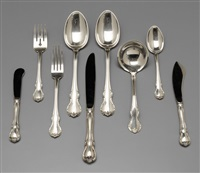 flatware (76 pieces) by towle silver