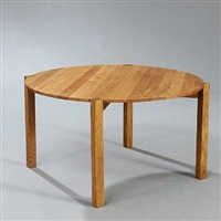 circle coffee table by jens jacob olesen