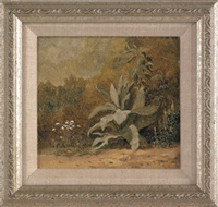floral landscape by xanthus russell smith