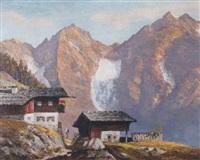 bergbauernhof mit wilden kaiser by alois pfund
