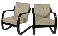 chairs (pair) by alvar aalto