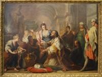 the idolatry of solomon by jacopo amigoni