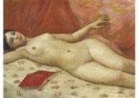 laying nude by noborou hasegawa