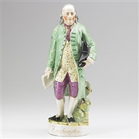 benjamin franklin by staffordshire